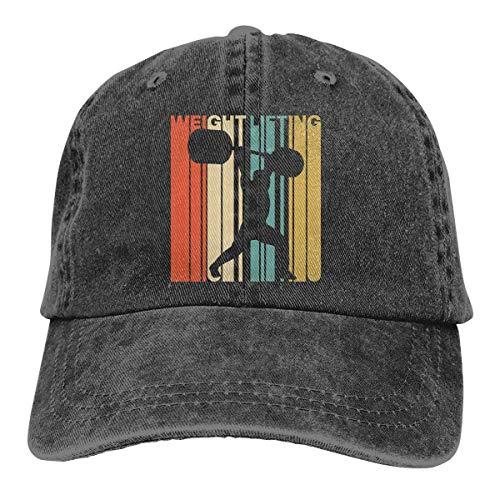 N/A Sombrero De Deporte,Ocio Sombrero,Dad Hat,Sombrero De Sol,Sombreros Sombrilla Al,Estilo Vintage Halterofilia Dena Jeanet Gorra De Béisbol Ajustable Sombrero De Papá