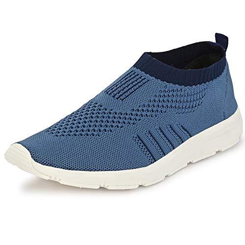 Bourge Men's Vega-3 R.Blue Running Shoes-10 UK/India (44 EU) (Vega-3-R.Blue-10)