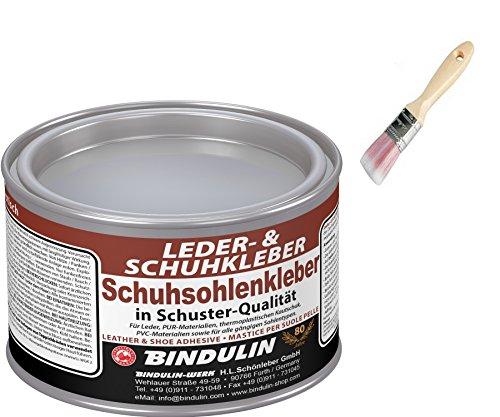 Schuhsohlen- und Lederkleber 350g von BINDULIN