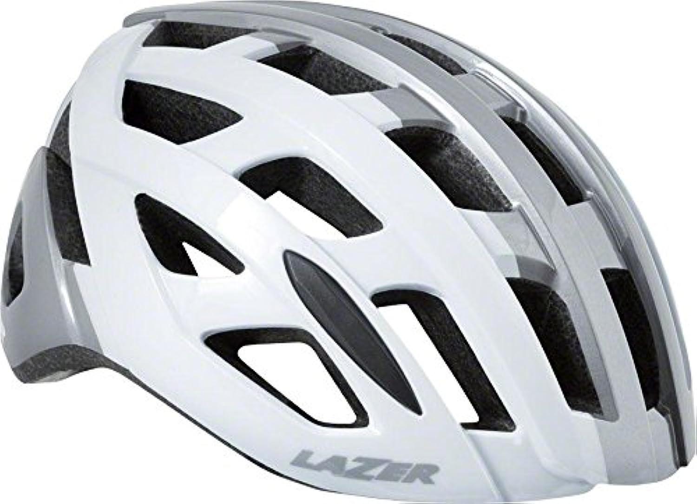 Lazer Tonic Helmet  White Titanium MD