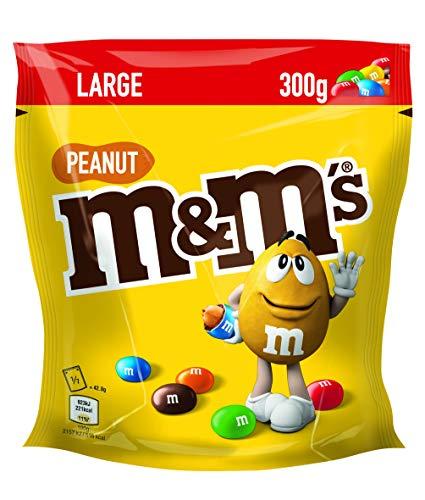 M&M's Arachidi Ricoperte di Cioccolato al Latte, 300 g