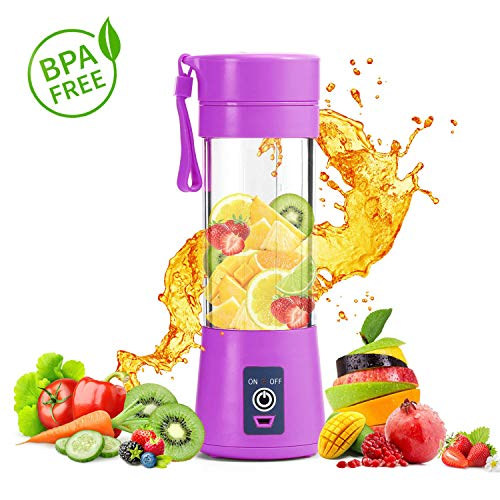 USB elektrische Frucht Juicer Handheld Saft Mixer Saft Tasse Flasche grün