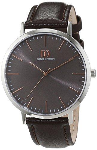 Danish Design uomo-Orologio da polso al quarzo in pelle 3314516