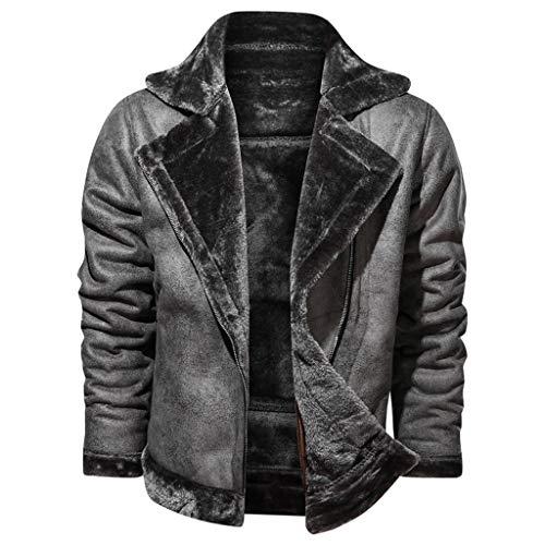 Chaqueta De Moda De Invierno 2020 para Hombre Nuevo Abrigo Vintage De...