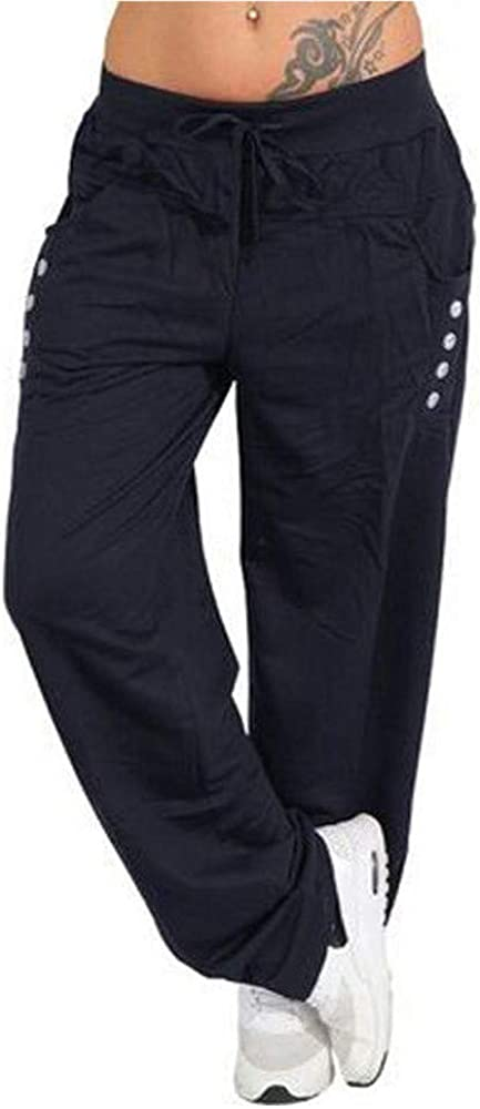 YOCheerful Womens Pants Trousers, Lady Spring Pants Loose Sports