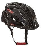 AWE AWEAir Sostituzione di Crash Gratis 5 Anni * nello Stampo di Ciclismo su Strada Uomini Adulti Casco Carbonio Nero Rosso 58-61cm