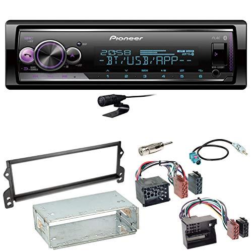 Pioneer MVH-S510BT Bluetooth Autoradio USB AUX MP3 FLAC AAC WAV Einbauset für Mini R50 R52 R53