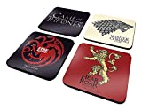 Set di 4 sottobicchieri'Game of Thrones'