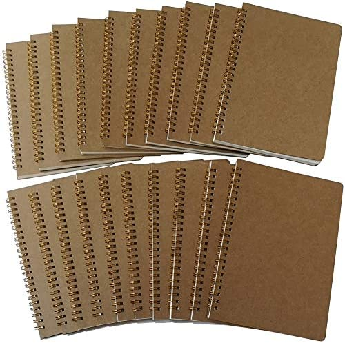 YUREE Spiral Notebook A5 Softcover Spiral Journal Blank Pages 50 Sheets 100 Pages 8 45 x 5 8 product image