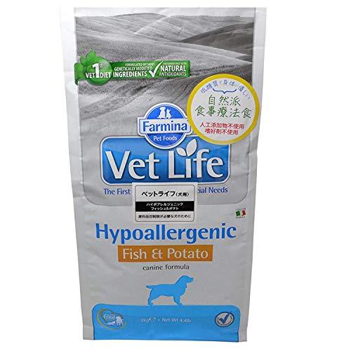 Vet Life HIPO Fish y Potato Dog, 1 Unidad (12 kg)