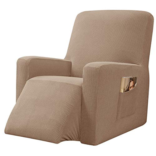 Chunyi Jacquard Sofabezug, 1 Stück, Polyester/Spandex Stoff, Camel, Recliner Chair