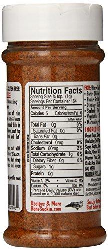 Bone Suckin' Sauce Bone Suckin' Original Seasoning and Rub, 5.8 Ounce