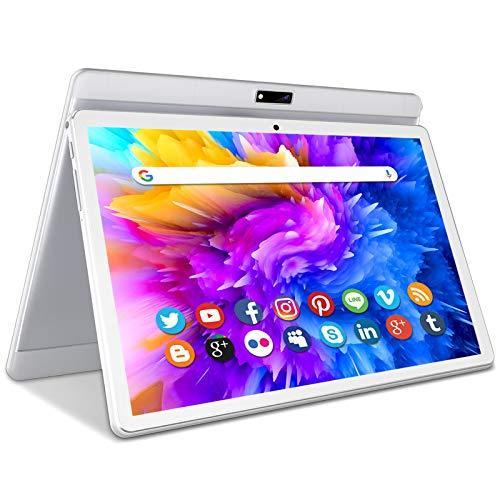 Tablet 10 Inch Android 9 HD Dual...