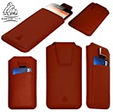 Gorilla Tech Lenovo A2010 Pull Up Case/Leather Pouch with