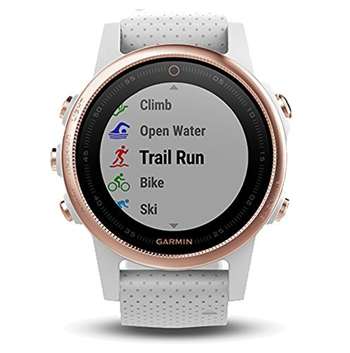 Review Garmin Fenix 5S Sapphire, Multisport GPS Smartwatch/Fitness Band with Heart Rate Monitoring -...