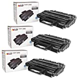 LD Compatible Toner Cartridge Replacement for Samsung MLT-D209L High Yield (Black, 3-Pack)