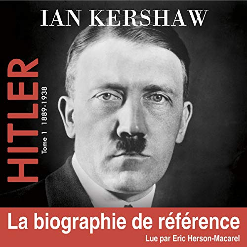 Hitler 1 (de 1889 à 1938) audiobook cover art