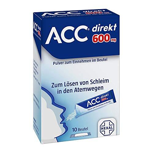 ACC direkt 600 mg Pulver zum Einnehmen im Beutel, 10 St