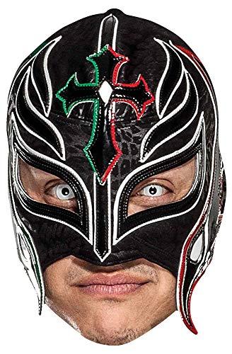 Star Cutouts Ltd-SM343 rey mysterio WWE mscara de Gran diversin para la Familia, Amigos y Fans, Color (SM343)