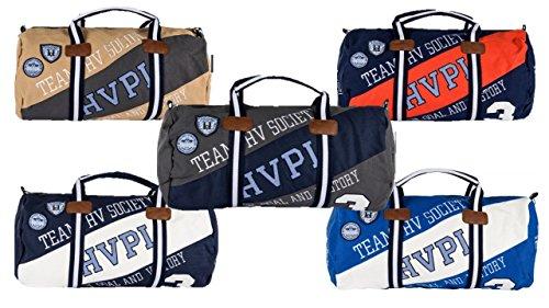 HV Polo Society Sporttasche Ashton Sportsbag Tasche Navy Weiß Grau Pepper Ocean Sand (Ocean)