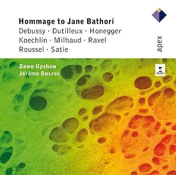 Hommage To Jane Bathori