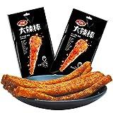 Weilong Latiao, labang Mala Xiangla卫龙 辣条 大辣棒 香辣 麻辣 Chinese Special Snack Food: Wei Long Series Spicy Gluten,(156g,78gx2)