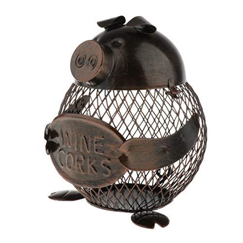 MERIGLARE Hucha de Metal Caja de Dinero Cerdo Animales en Forma de Hucha Artesanía Arte para