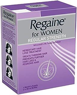 Regaine for Women Minoxidil 2% Scalp Solution, 60 ml