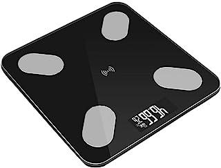 HJTLK Báscula de baño Digital, Báscula de baño Báscula de baño, Aplicación Bluetooth Inteligente Báscula de Peso Digital electrónica, Báscula de Grasa Corporal Balance