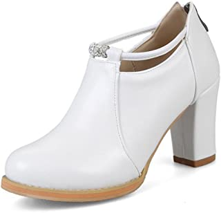 34d7bc8e14afe Amazon.com: UP TOP - White / Ankle & Bootie / Boots: Clothing, Shoes ...