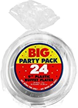 Party Clear Plastic Plates Supply