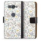 DeinDesign Étui Compatible avec Sony Xperia XZ2 Compact Étui Folio Étui magnétique Produit sous...