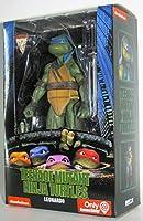 Teenage Mutant Ninja Turtles 90's Movie Leonardo 17cm Action Figure by NECA Reel Toys 2019 GameStop Exclusive