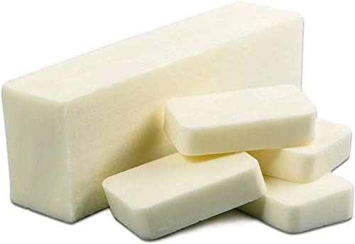 Vedini Triple Butter Soap Base - Cocoa, Mango and Shea Butter (SLS, SLES, Paraben, Chloride and Alcohol Free) for Soa...