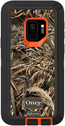 OtterBox Defender Series Case for Samsung Galaxy S9 (NOT Plus) - Case Only - Holster Not Included - Non-Retail Packaging - Real Tree Max5