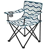 Clas Ohlson ® Foldable Camping Chair with Carry Bag and Cup Holder