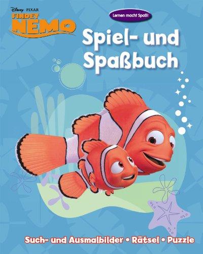 Disney: Activity 2 Findet Nemo: Spiel- und Spaßbuch/ Such- und Ausmalbilder-Rätzel-Puzzle
