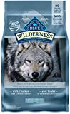 Blue Buffalo Wilderness High Protein Grain Free, Natural Adult Dry Dog Food, Chicken