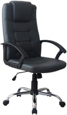 F-U sillón Direccional de Escritorio Oficina con Reposabrazos y Ruedas Giratorio