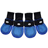 HiPaw Summer Breathable Dog Boots Nonslip Sole Paw Protector for...