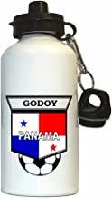 Aníbal Godoy (Panama) Soccer Water Bottle White