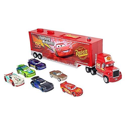 Disney Camion Mack A Frizione LUCI E Suoni con 6 MACCHININE Cars