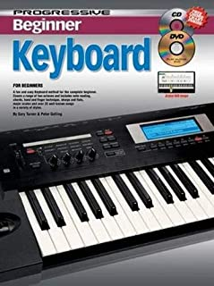 11813 - Progressive Beginner Keyboard - Book/CD/DVD
