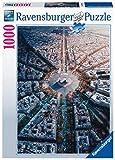 Ravensburger Puzzle, Puzzles 1000 Piezas, Paris Desde Arriba, Puzzle Paris, Puzzles para Adultos, Puzzle Ravensburger