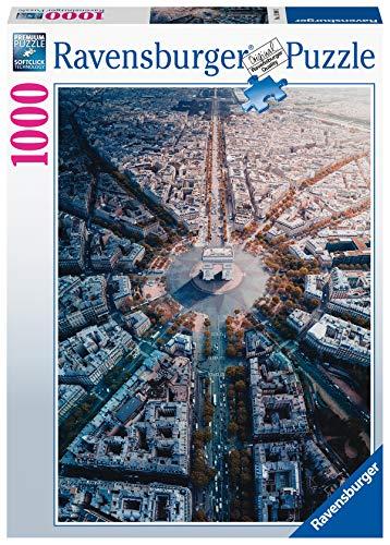 Ravensburger Puzzle, Puzzle 1000 Pezzi, Parigi dall'Alto, Collezione Paesaggi & Foto, Puzzle per Adulti, Puzzle Ravensburger - Stampa di Alta Qualità