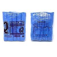 Copriscarpe Monouso Resistenti (4 g.), Calzari Usa e Getta in CPE - DPI Dispositivi di Protezione Individuale - Pulizia per la Casa - Giardinaggio - Colore BLU. (CPE 4 grammi, Quantità 200 pz) #3
