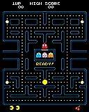 1art1 Gaming - Pac-Man Maze Bilder Leinwand-Bild Auf