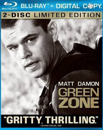 Green Zone (Blu-Ray / WS / DTS Surround Sound / ENG-SP-FR-SUB) Matt Damon, Jason Isaacs , Greg Kinnear, ,Amy Ryan, Brendan Gleeson, Antoni Corone, Khalid Abdalla, Michael O