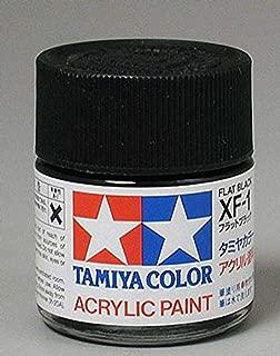 Tamiya America, Inc Acrylic XF1 Flat Black, TAM81301