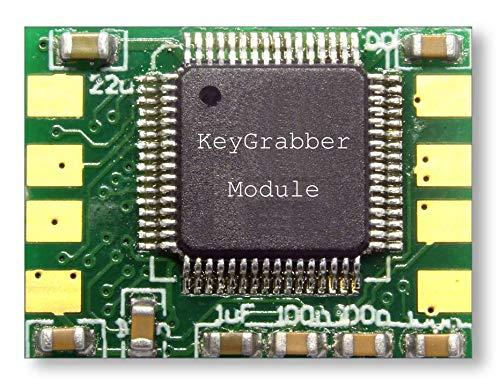 KeyGrabber Forensic Keylogger Module Pro - Módulo USB de hardware Keylogger con flash de 16 MB, programable, ejecuta secuencias de comandos, pruebas de penetración